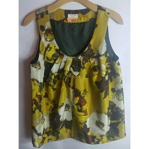 Kate Spade Floral sleeveless top